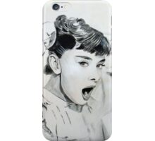 Audrey Hepburn (in Roman Holiday) IPhone Case iPhone Case/Skin