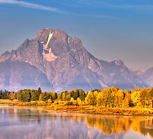 Autumn in Grand Teton National Park by Ryan Wright