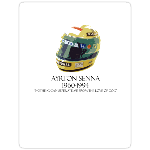 Ayrton Senna by Sam Peters