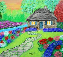 Cottage Garden  by maggie326