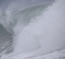 Waves - beach of Puerto Vallarta by Bernhard Matejka