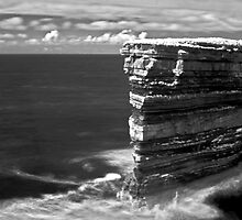 Sea Stacks in Downpatrick Head, County Mayo, Ireland by Dave  Kennedy