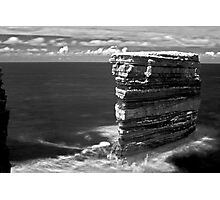 Sea Stacks in Downpatrick Head, County Mayo, Ireland Photographic Print