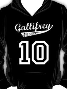 Gallifrey All-Stars: Ten T-Shirt