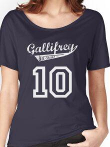Gallifrey All-Stars: Ten Women's Relaxed Fit T-Shirt