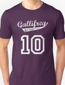 Gallifrey All-Stars: Ten Unisex T-Shirt