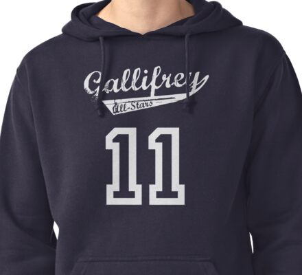 Gallifrey All-Stars: Eleven Pullover Hoodie