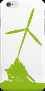 Raising the wind turbine by KRDesign
