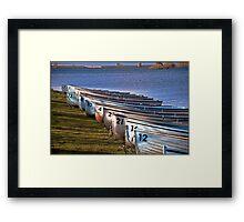 Boating Framed Print