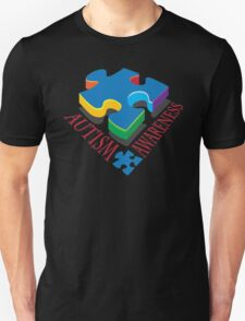 Autism Awareness Puzzle Piece Unisex T-Shirt
