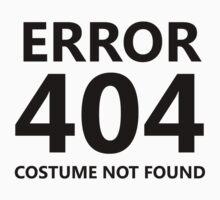 Error 404 - Costume Not Found Kids Clothes