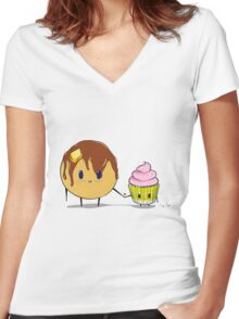 Cake Love Women's Fitted V-Neck T-Shirt