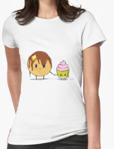 Cake Love Womens Fitted T-Shirt