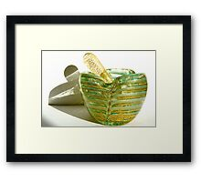 grandmother's  ashtray 2 Framed Print