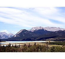 Rocky Mountain View Photographic Print
