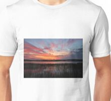 Sunset And Reflections 2 Unisex T-Shirt