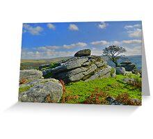 Dartmoor: Heckwood Tor Greeting Card