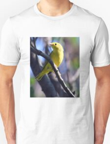 Yellow Warbler sitting in tree T-Shirt