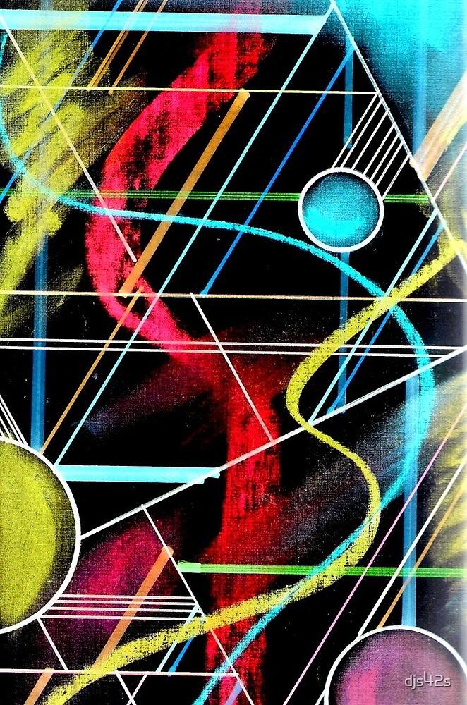 Spheres Grid Print by djs42s