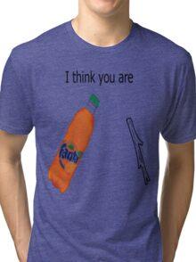 Fanta-stick Tri-blend T-Shirt