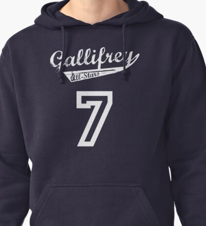 Gallifrey All-Stars: Seven Pullover Hoodie