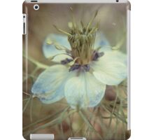 Love in a Mist -- Nigella iPad Case/Skin