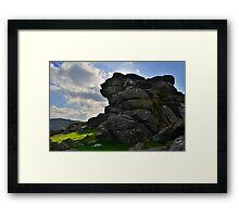 Dartmoor: Vixen Tor Framed Print