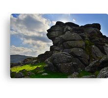 Dartmoor: Vixen Tor Canvas Print