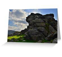 Dartmoor: Vixen Tor Greeting Card