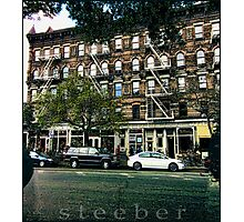 Hudson Street - Greenwich Village Photographic Print