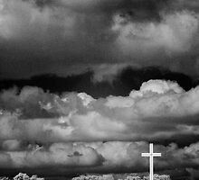 Papal Cross in the Phoenix Park, Ireland by Dave  Kennedy