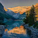 Canada. Banff National Park. Lake Louise in the morning. by vadim19