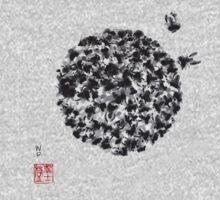 Swarm of Honey Bees One Piece - Short Sleeve