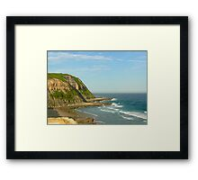 Bar Beach View Framed Print