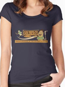 Goldberg's Deli & Subs Women's Fitted Scoop T-Shirt