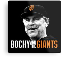 Bruce Bochy and the San Francisco Giants Metal Print
