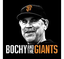 Bruce Bochy and the San Francisco Giants Photographic Print