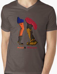 Pond & Williams Mens V-Neck T-Shirt