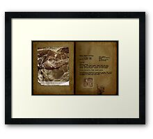 Altered, Martha Tabram Final Findings Framed Print