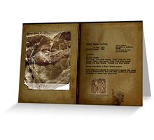 Altered, Martha Tabram Final Findings Greeting Card