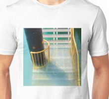 Stairs descending into water Unisex T-Shirt