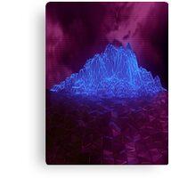 Cyber Mountain Canvas Print