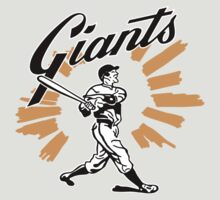 San Francisco Giants Schedule Art from 1958 by zeech