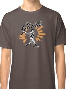 San Francisco Giants Schedule Art from 1958 Classic T-Shirt