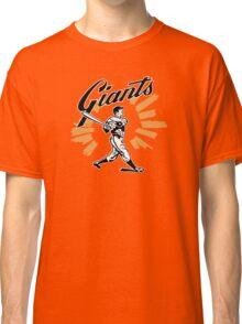 San Francisco Giants Schedule Art from 1958 Classic T-Shirt
