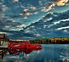 Waban Lake, Massachusetts  by LudaNayvelt