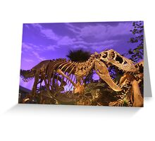 The Dinosaur World Greeting Card