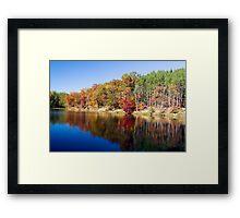 Strahl Lake, Brown Co. St. Park, Indiana Framed Print
