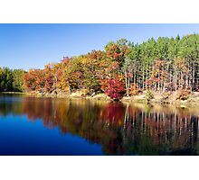 Strahl Lake, Brown Co. St. Park, Indiana Photographic Print