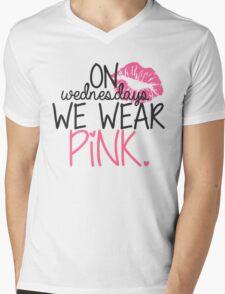 On Wednesdays We Wear Pink Mens V-Neck T-Shirt